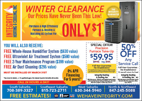 Chicago Air Conditioning Coupon Chicago Heating Savings